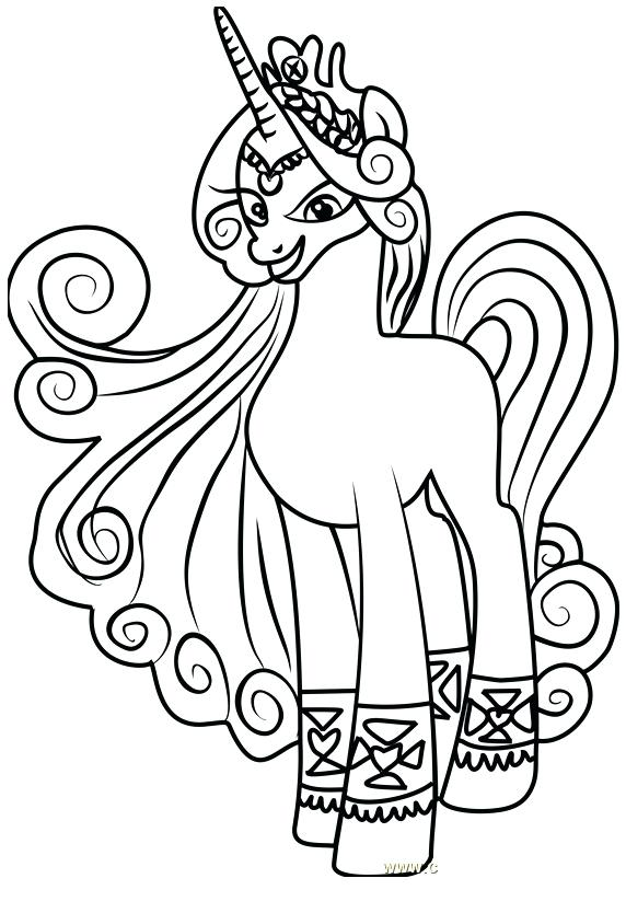 572x834 Coloring Pony My Little Pony Princess Coloring My Little Pony