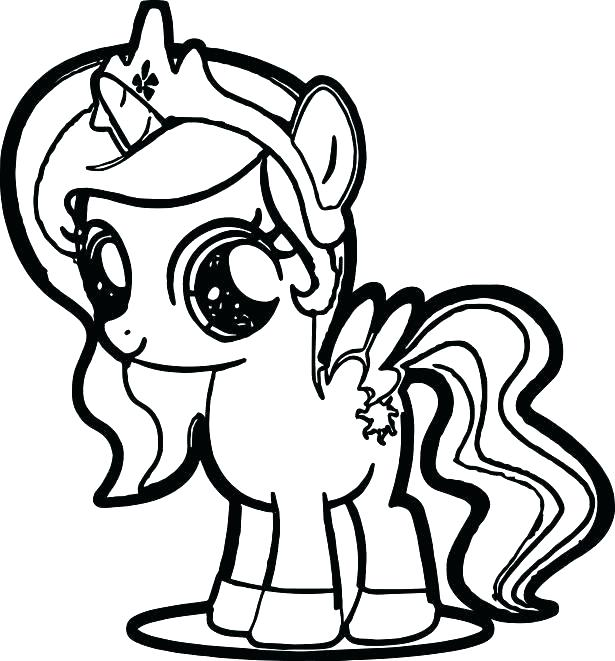 My Little Pony Girl Coloring Pages