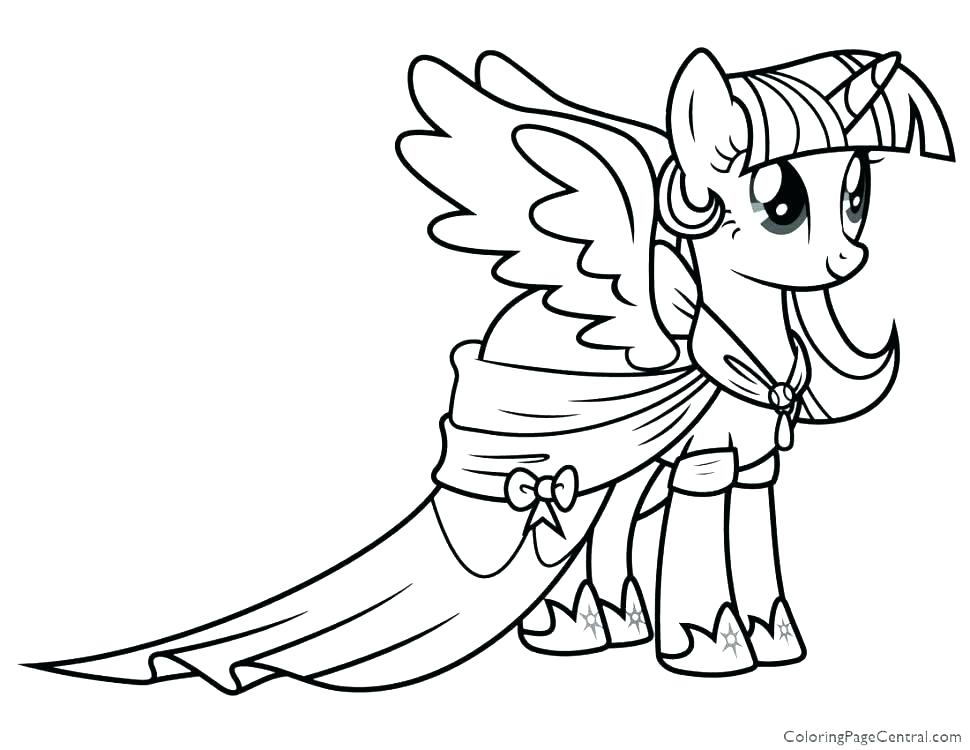 970x750 My Little Pony Girls Coloring Pages My Little Pony My Little Pony
