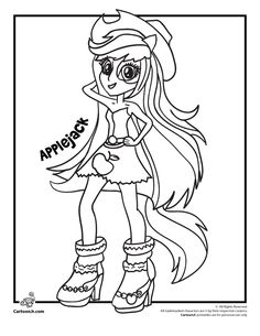 My Little Pony Girl Coloring Pages At Getdrawings Free Download