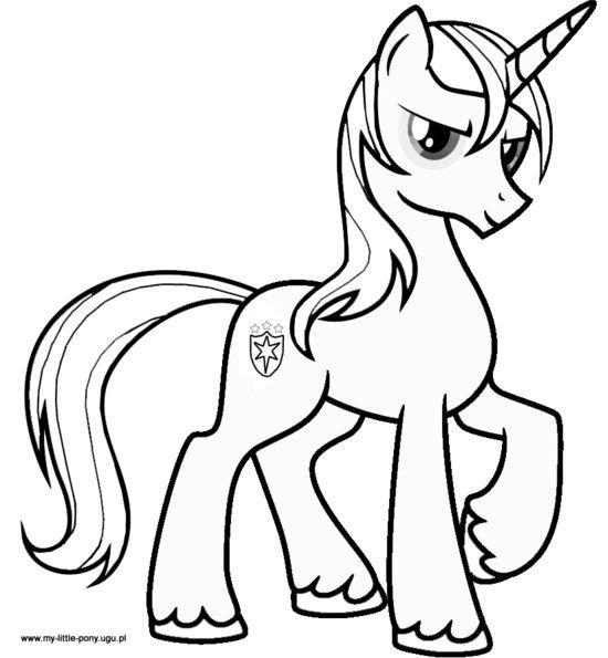 550x595 My Little Pony Pegasus Coloring Pages