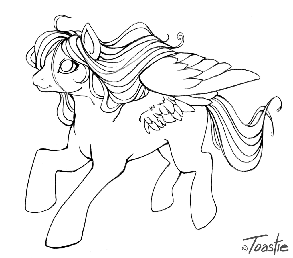 1024x900 My Little Pony Pegasus Coloring Pages