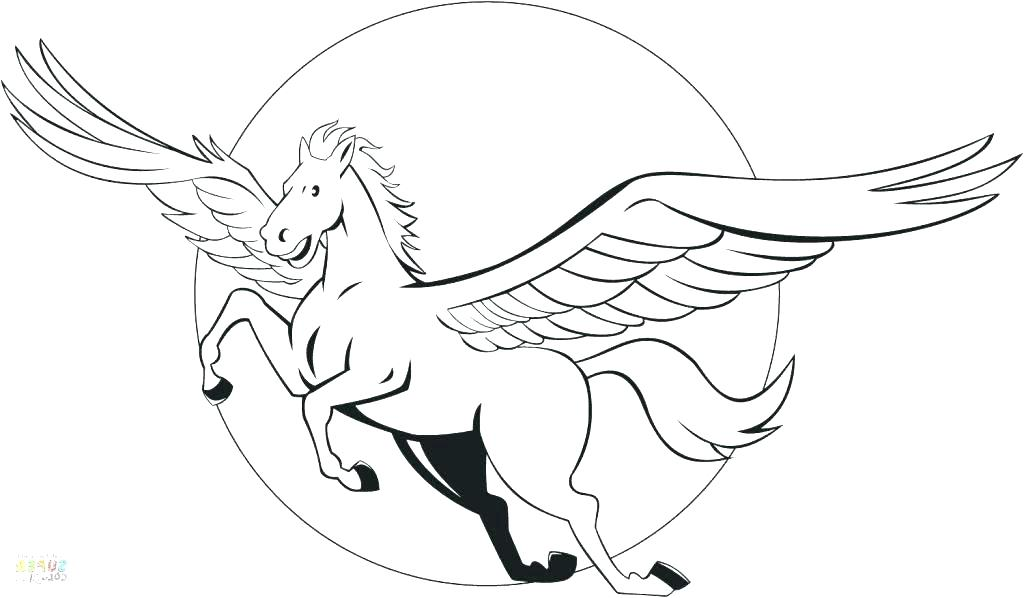 1024x598 Pegasus Coloring Page Coloring Page Galaxy Coloring Pages Pony