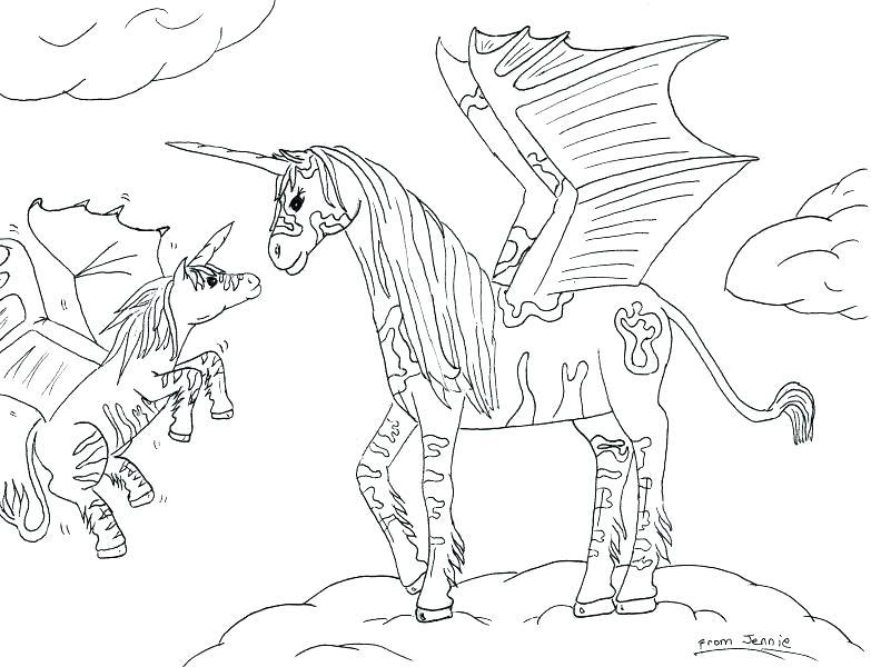 783x600 Pegasus Coloring Pages Barbie Magic Of Pegasus Coloring Pages