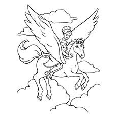 230x230 Top Free Printable Pegasus Coloring Pages For Toddlers