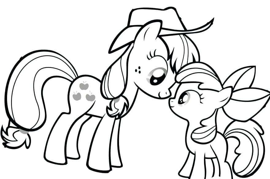 880x585 Mlp Fim Coloring Book Printable Coloring My Little Pony Coloring