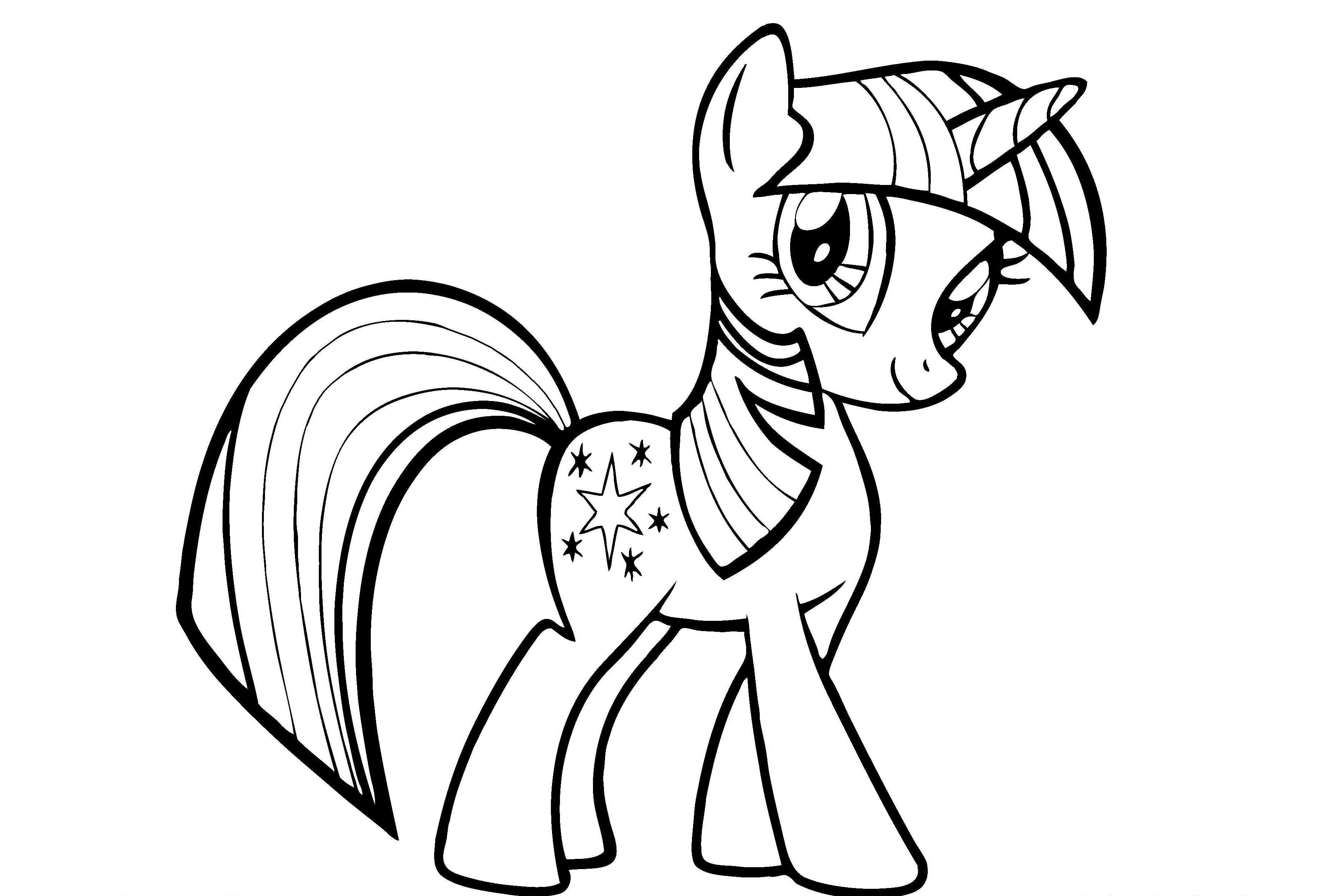 My Little Pony Unicorn Coloring Pages at GetDrawings ...