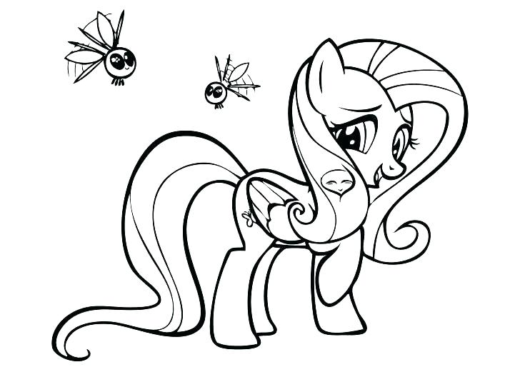 My Pony Coloring Pages