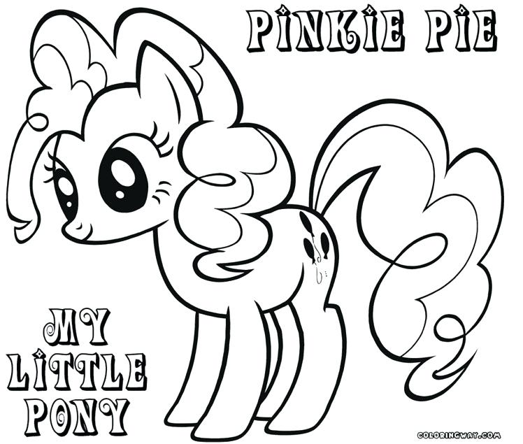 748x635 Little Pony Coloring Pages Pinkie Pie Pony Coloring Pages My