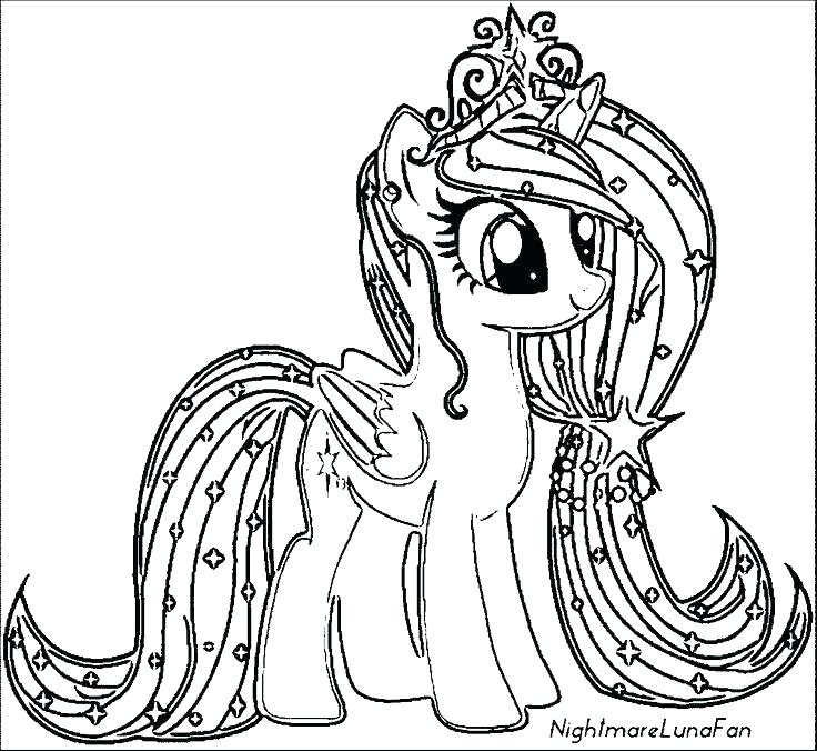 picture relating to My Little Pony Printable Coloring Pages identified as My Really Pony Coloring Internet pages at  Cost-free for