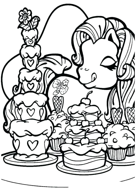 567x794 My Little Pony Printable Coloring Pages Printable Coloring Pages