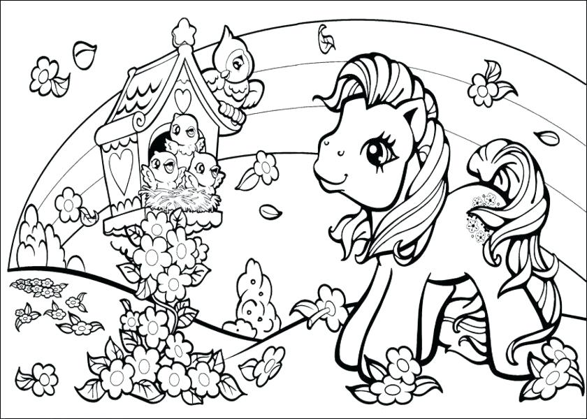 840x600 Pony Coloring Pages Baby My Little Pony Coloring Pages My Little