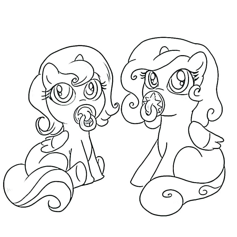 765x765 Pony Coloring Sheets My Pretty Pony Coloring Pages My Little Pony