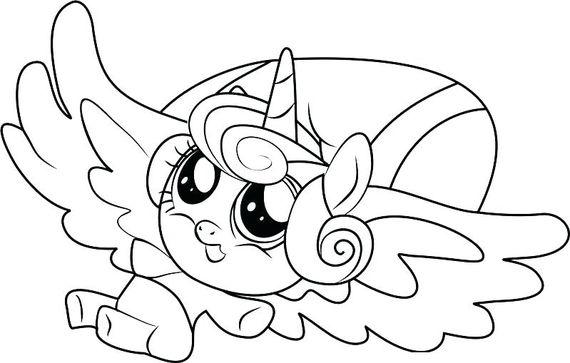 799x509 Free Printable My Little Pony Coloring Pages
