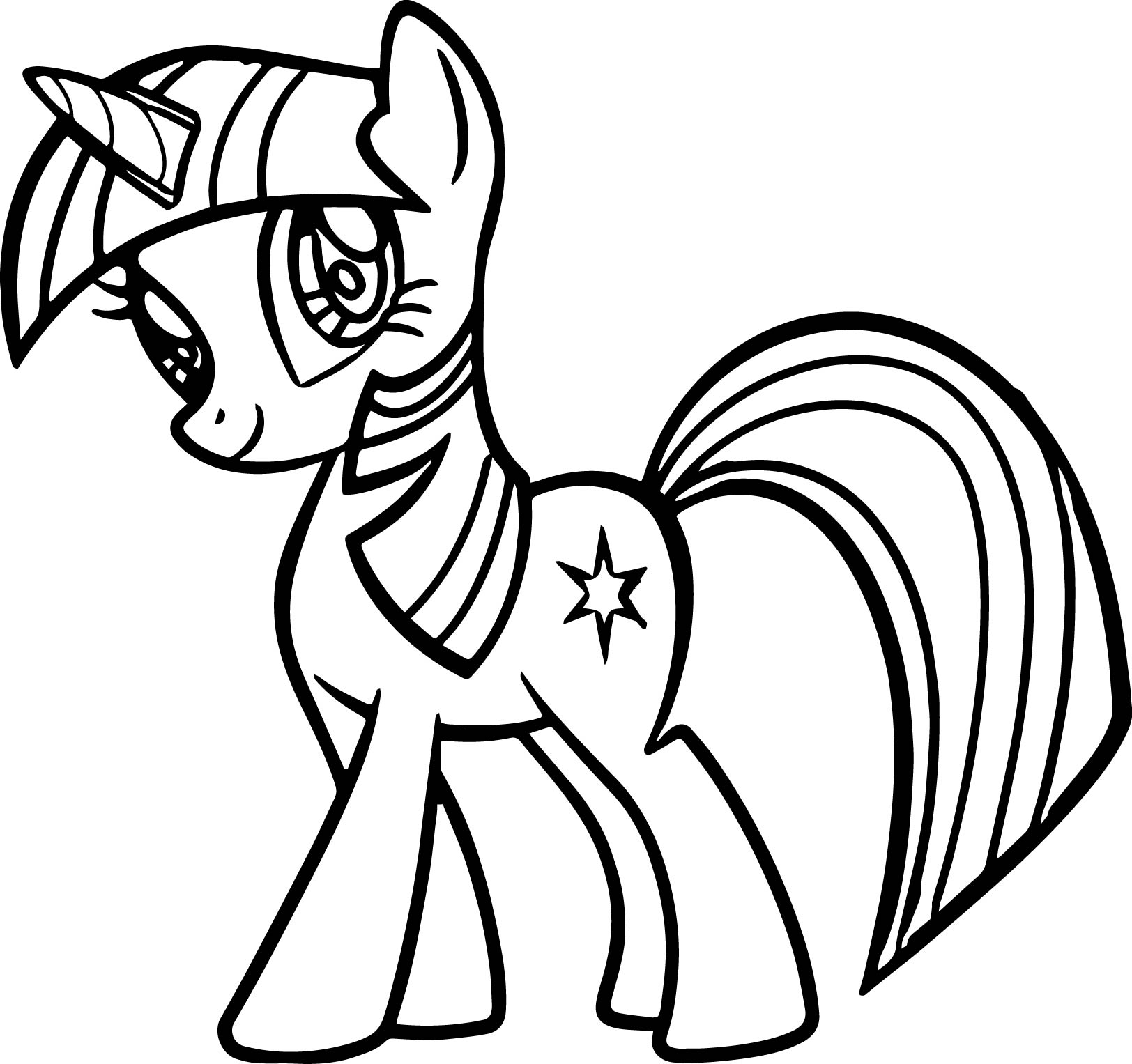 1624x1527 Cute My Little Pony Coloring Page Wecoloringpage