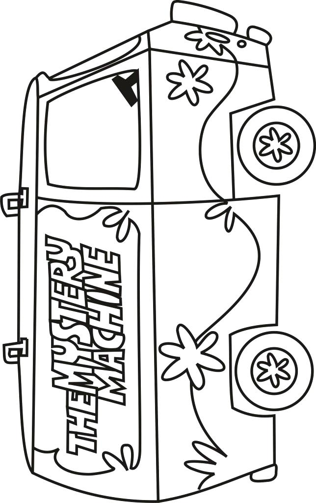 644x1024 Mystery Pictures Coloring Pages Mystery Machine Coloring Pages