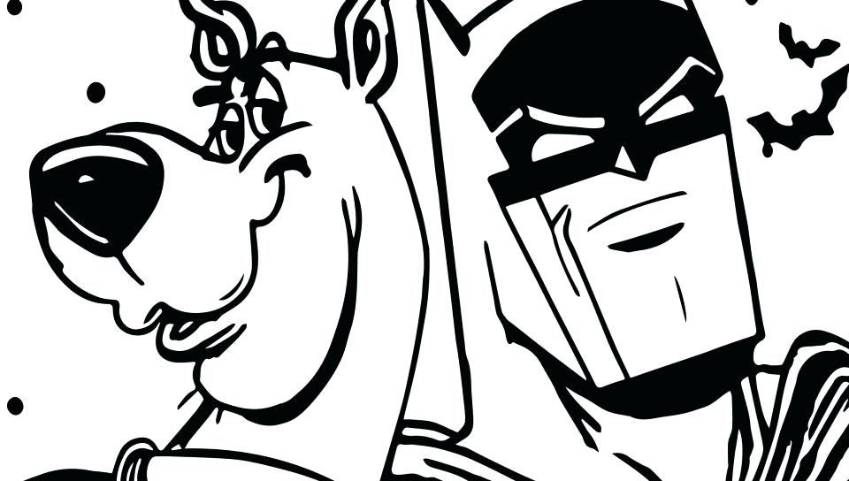 960x544 Scooby Doo Mystery Machine Coloring Pages Free Kids Coloring