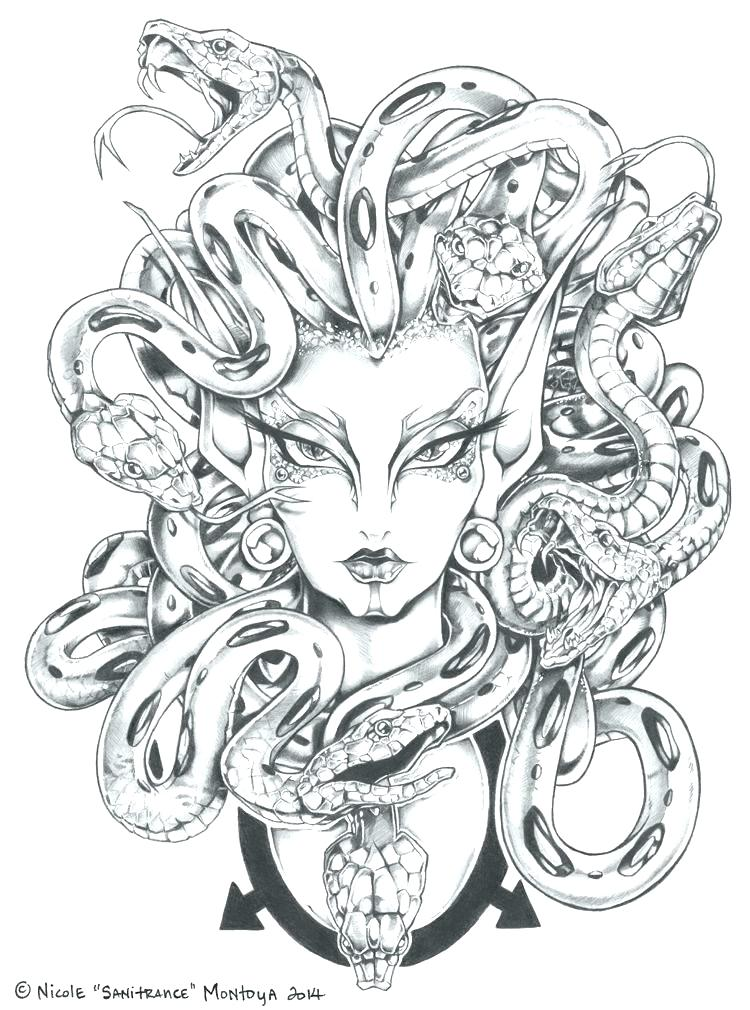 Mythical Coloring Pages at GetDrawings | Free download