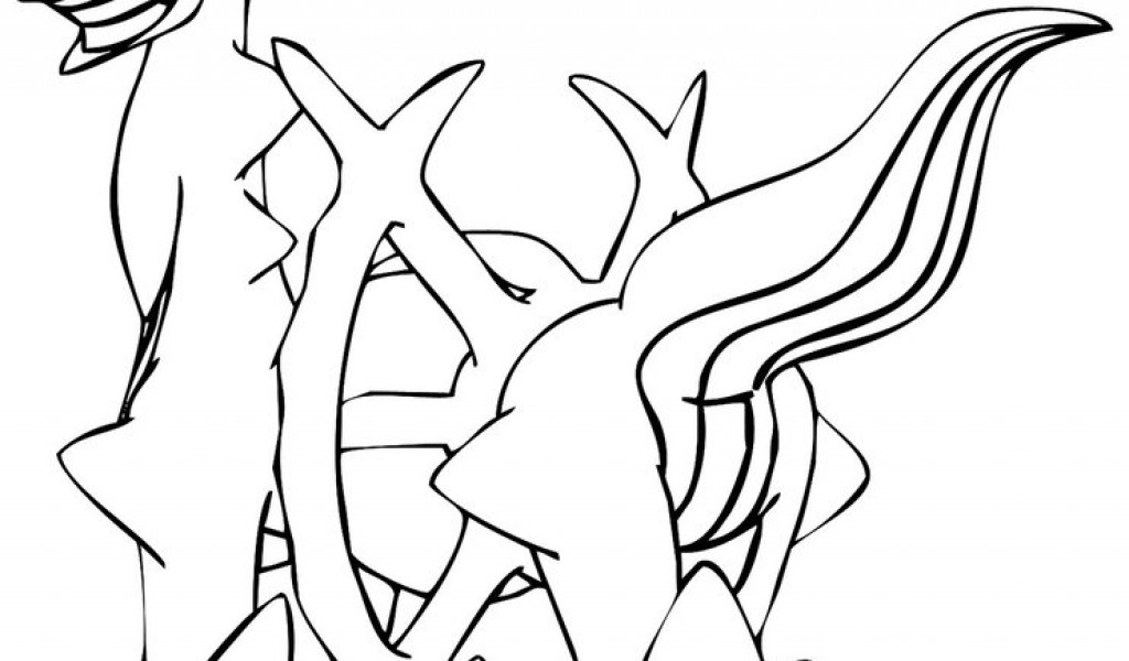 Mythical Pokemon Coloring Pages