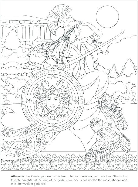 455x616 Greek Mythology Creatures Coloring Pages Mythology Coloring Pages