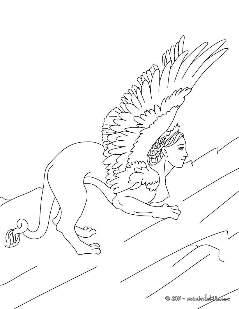 821x1061 Greek Mythology Coloring Pages