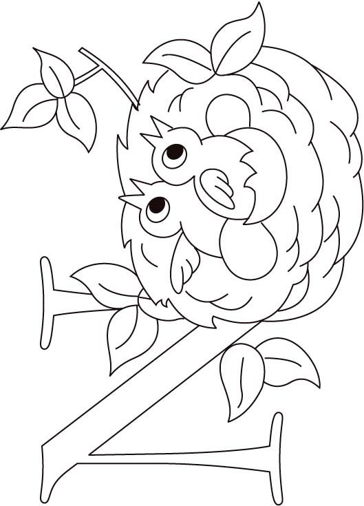529x735 Top Nest Coloring Pages