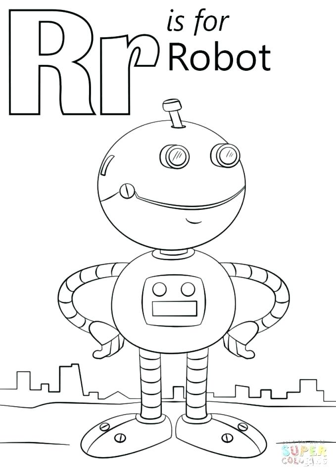 679x960 The Letter R Coloring Page Professional