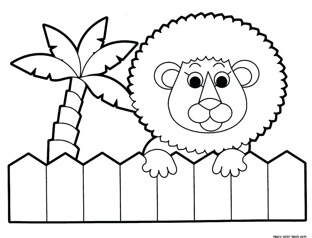 1008x768 Cute Baby Animal Coloring Pages To Print Free Coloring Cute Animal
