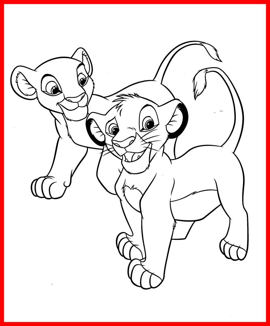 908x1095 Nala Coloring Pages Lovely Image Of The Lion King Ideas Arilitv