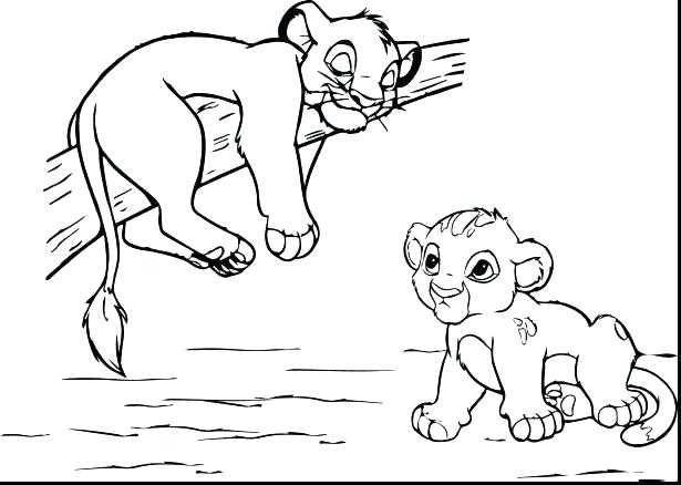 615x438 Nala Coloring Pages And Coloring Pages Lion Color Page Lion King
