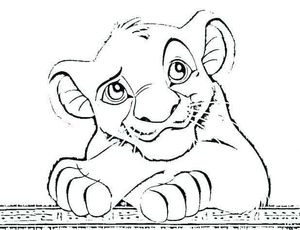 618x475 Nala Coloring Pages Coloring Pages Image Of Lion King Coloring