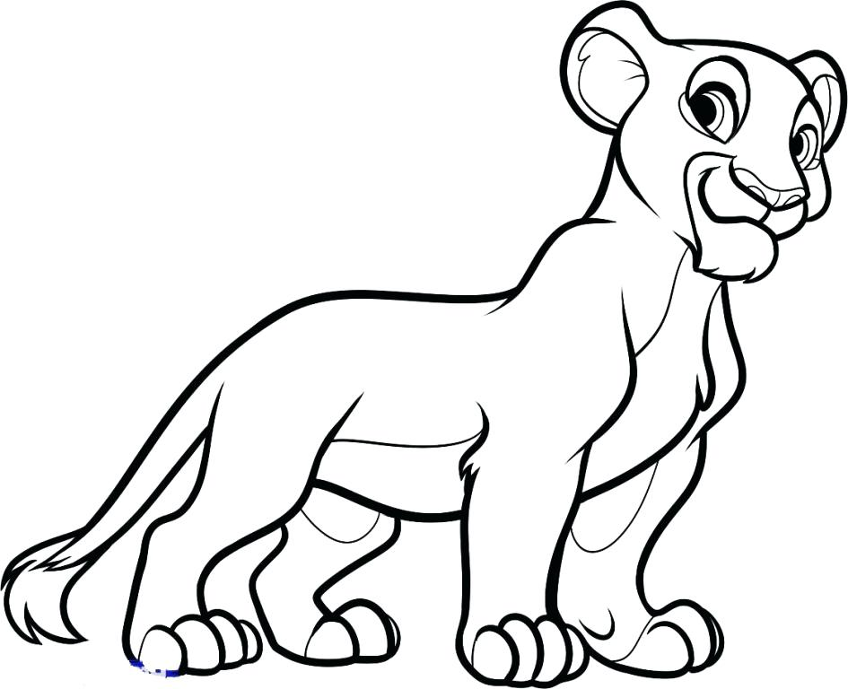 945x768 Nala Coloring Pages Little Coloring Page Nala Colouring Pages