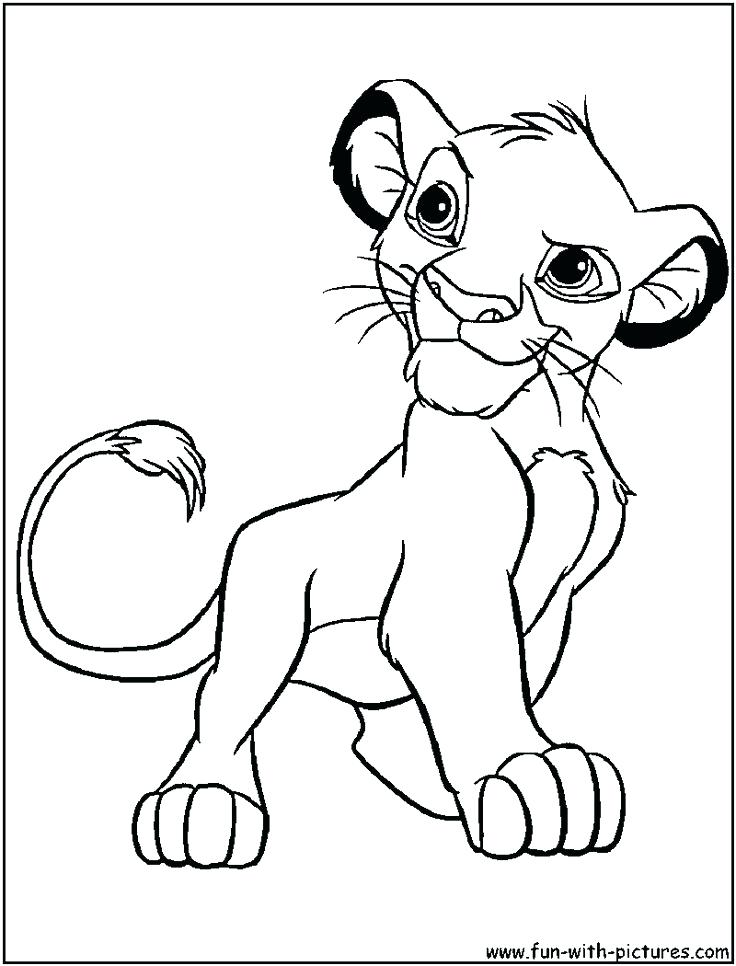 736x966 Graphic Art Stamps Lion King Simba Nala Coloring Pages