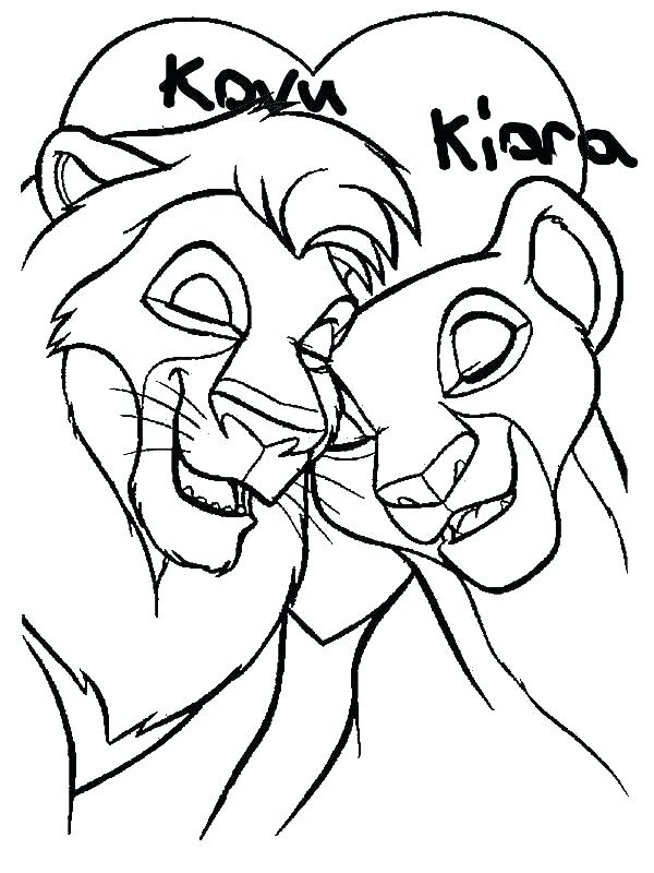 600x800 Simba And Nala Coloring Pages Coloring Pages Coloring Pages Lion