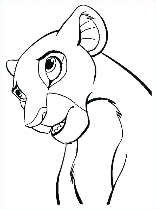 600x802 Lion King Coloring Pages Simba And Nala The Page How To Draw