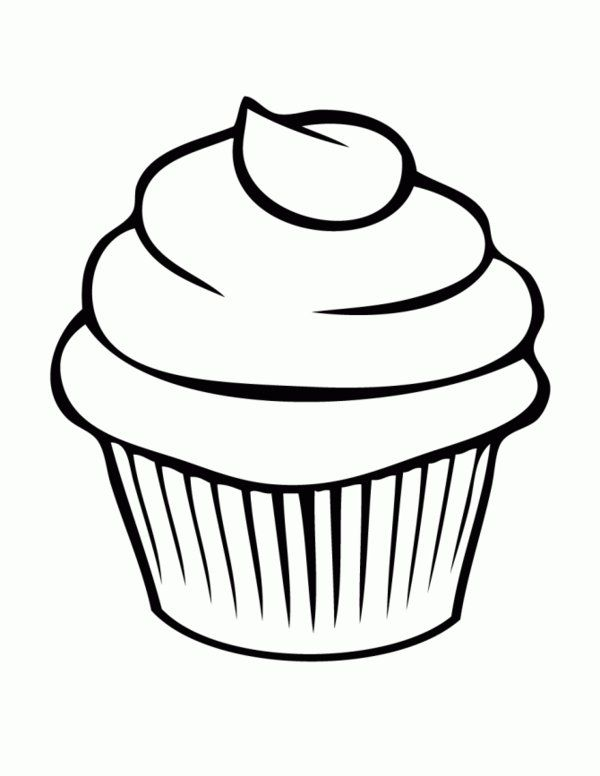 600x776 Name Tags Bread Cupcake Coloring Pages Picture Cupcake Bakery