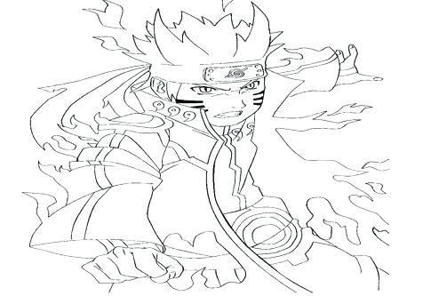 The best free Naruto coloring page images. Download from 358 free ...