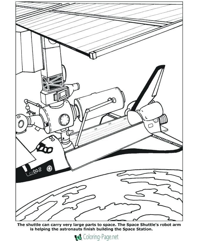 670x820 Space Coloring Pages Space Nasa Space Shuttle Coloring Pages