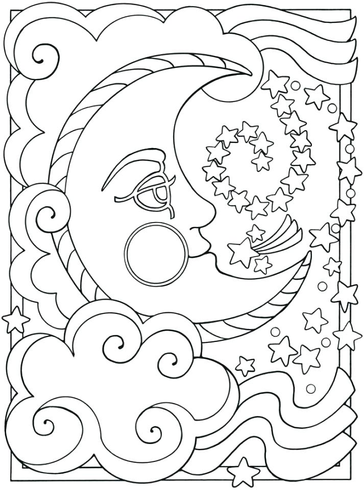 713x960 Space Coloring Sheets Coloring Pages For Adults To Print Also