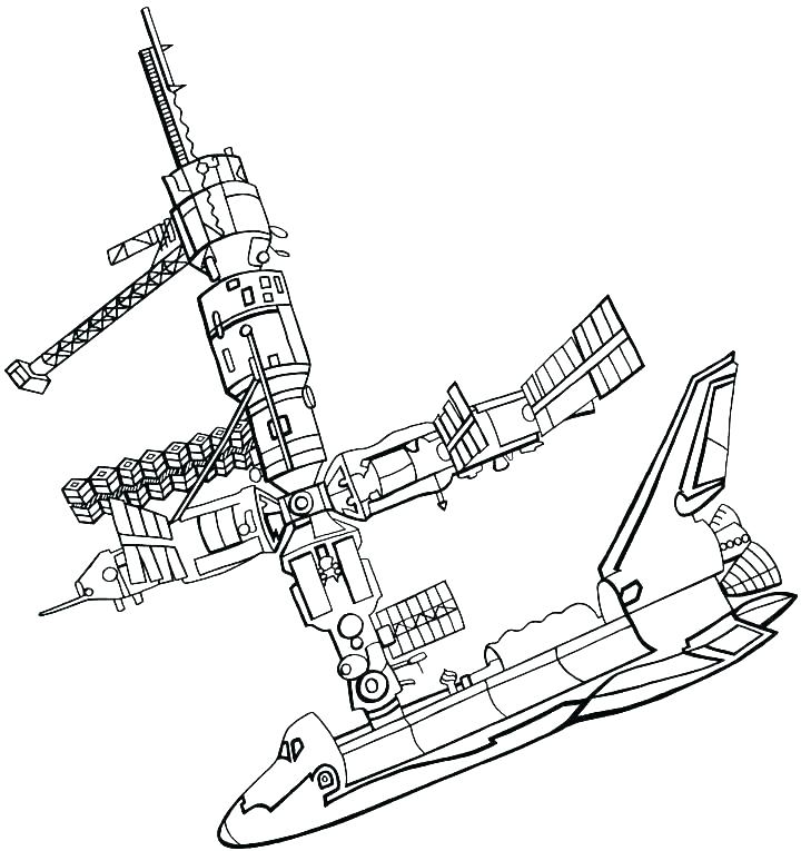 720x765 Space Shuttle Coloring Page Coloring Pages Space Space Shuttle