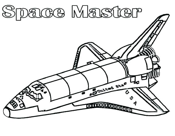 600x464 Space Shuttle Coloring Page Space Shuttle Coloring Page Space