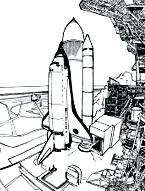 600x790 Space Shuttle Coloring Pages Space Coloring Pages About Shuttle