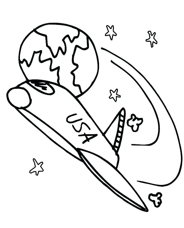 600x741 Space Shuttle Coloring Pages Space Shuttle Coloring Pages Space