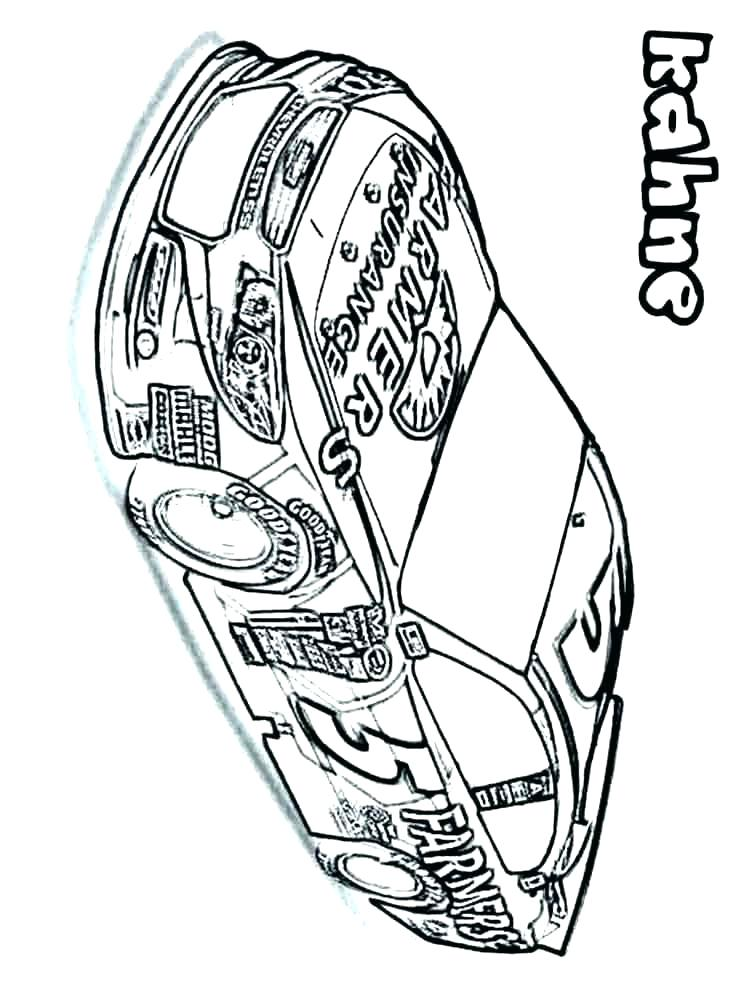 nascar coloring pages dale earnhardt - photo#24
