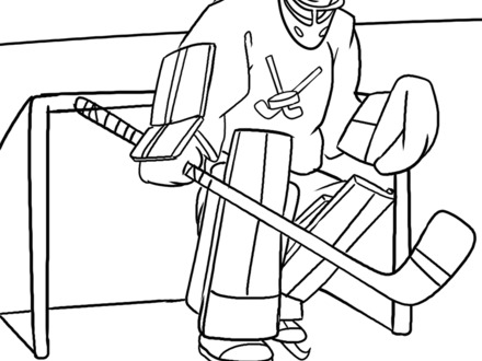 440x330 Free Coloring Pages Of Nhl Logo, Nhl Coloring Pages