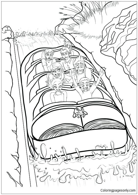563x795 Mountains Coloring Page Splash Mountain Coloring Page Great Smoky