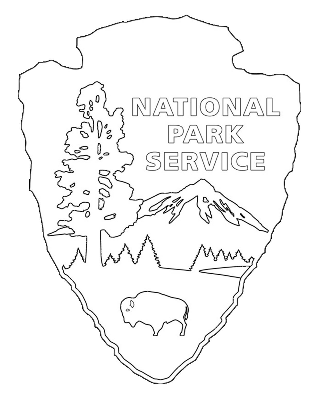 1314x1642 National Parks Coloring Pages