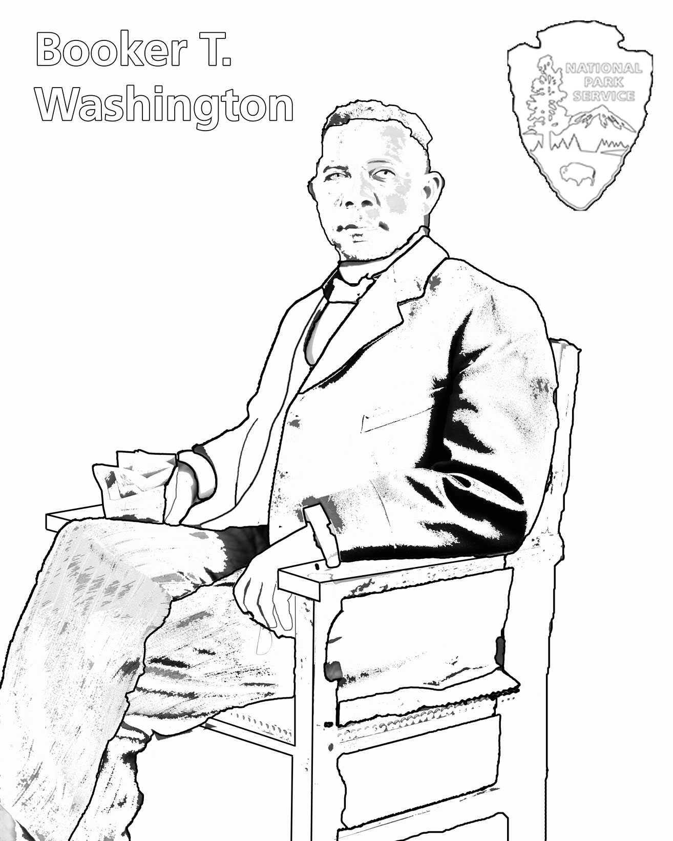1314x1642 Charles Young Buffalo Soldiers Coloring Book