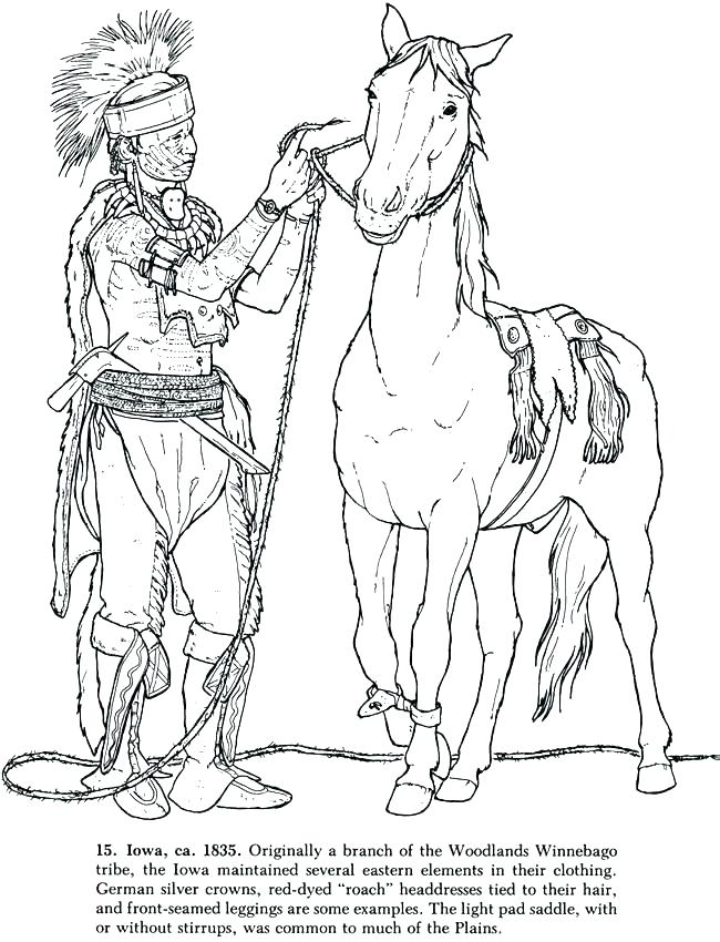 650x850 Native American Coloring Page Native Coloring Pages