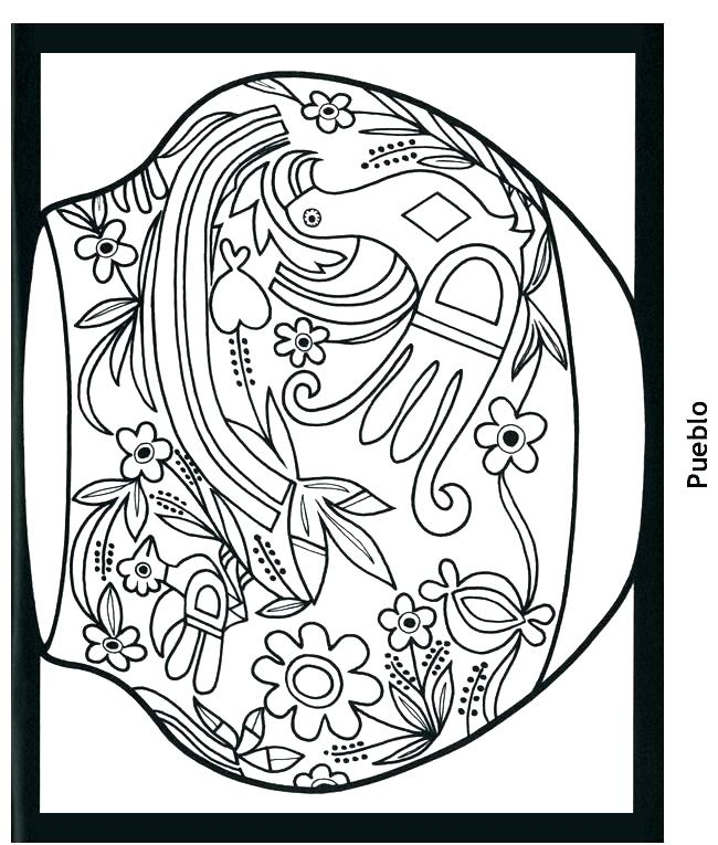 650x765 Native American Coloring Pages Free Native Coloring Pages Free
